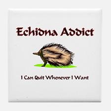 Echidna Addict Tile Coaster