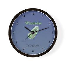 Windsday Wall Clock
