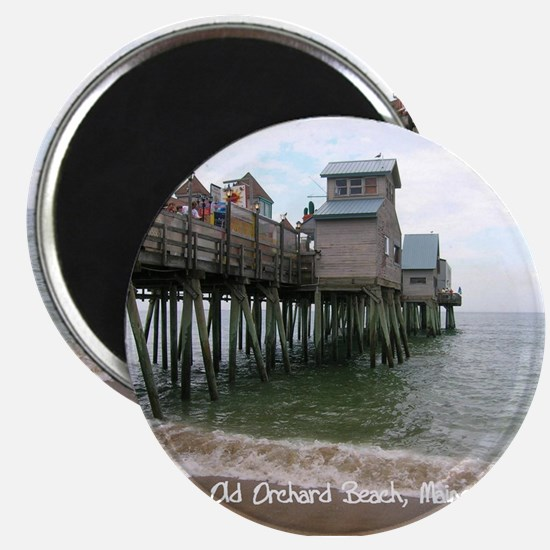 """Old Orchard Beach, ME 2.25"""" Magnet (10 pack)"""