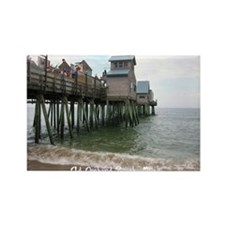 Old Orchard Beach, ME Rectangle Magnet