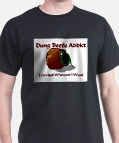 Dung Beetle Addict T-Shirt