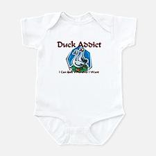 Duck Addict Infant Bodysuit