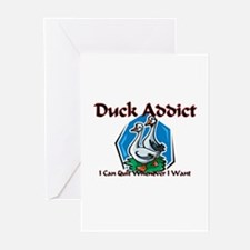 Duck Addict Greeting Cards (Pk of 10)