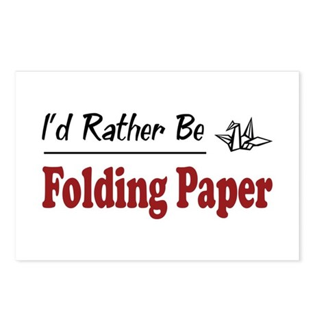 Rather Be Folding Paper Postcards (Package of 8)