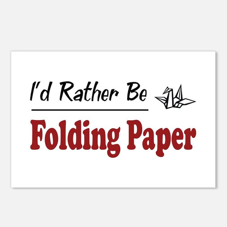 origami postcards origami post card design template