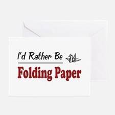 Rather Be Folding Paper Greeting Cards (Pk of 20)