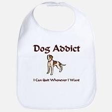 Dog Addict Bib