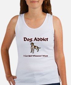 Dog Addict Women's Tank Top