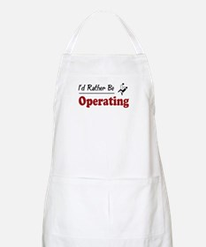 Rather Be Operating BBQ Apron