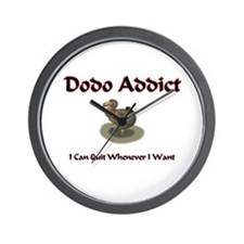 Dodo Addict Wall Clock