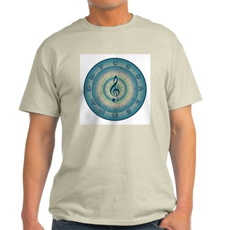 Colorful Circle of Fifths Light T-Shirt