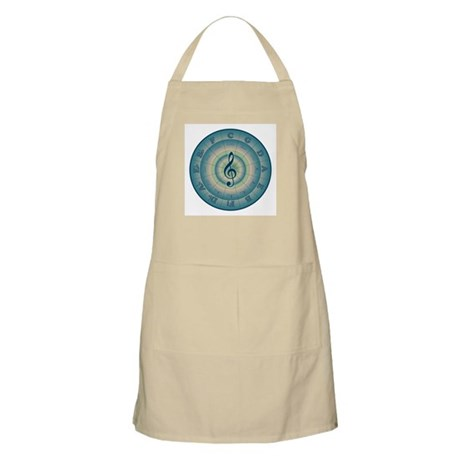Colorful Circle of Fifths BBQ Apron
