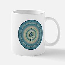 Colorful Circle of Fifths Mug