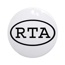 RTA Oval Ornament (Round)