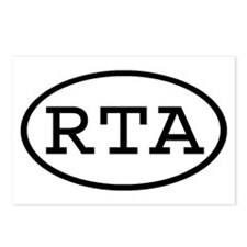 RTA Oval Postcards (Package of 8)