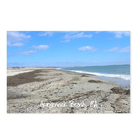 Horseneck Beach, MA Postcards (Package of 8)