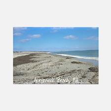 Horseneck Beach, MA Rectangle Magnet