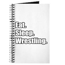 """""""Eat. Sleep. Wrestling."""" Journal"""