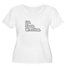 """Eat. Sleep. Wrestling."" T-Shirt"