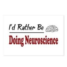 Rather Be Doing Neuroscience Postcards (Package of