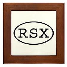RSX Oval Framed Tile