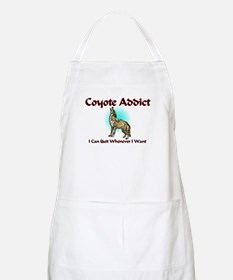Coyote Addict BBQ Apron