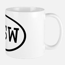 RSW Oval Mug