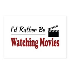 Rather Be Watching Movies Postcards (Package of 8)