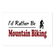 Rather Be Mountain Biking Postcards (Package of 8)