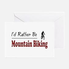 Rather Be Mountain Biking Greeting Cards (Pk of 10