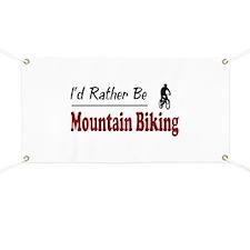 Rather Be Mountain Biking Banner