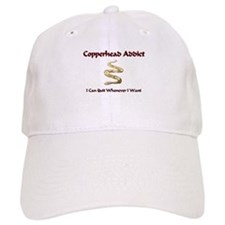 Copperhead Addict Baseball Cap