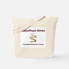 Copperhead Addict Tote Bag