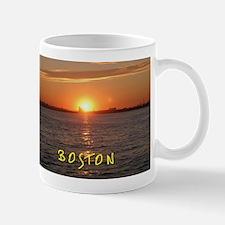 Boston Harbor Sunset Mug