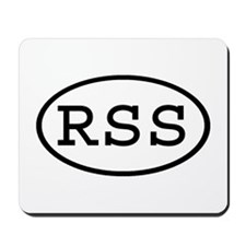 RSS Oval Mousepad