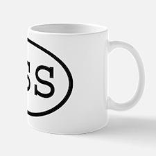 RSS Oval Mug