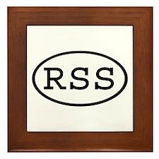 RSS Oval Framed Tile