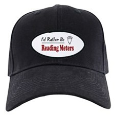 Rather Be Reading Meters Baseball Hat