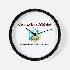 Cockatoo Addict Wall Clock