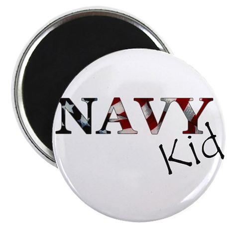 Navy Kid (Flag) Magnet