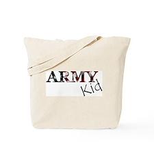 Army Kid (Flag) Tote Bag