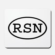 RSN Oval Mousepad