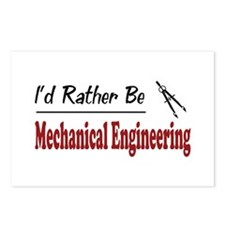 Rather Be Mechanical Engineering Postcards (Packag