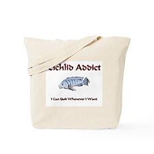 Cichlid Addict Tote Bag