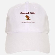 Chipmunk Addict Baseball Baseball Cap