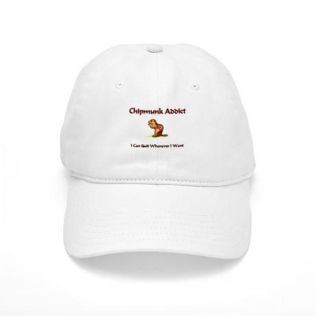 Chipmunk Addict Cap