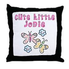 Cute Little Jodie Throw Pillow