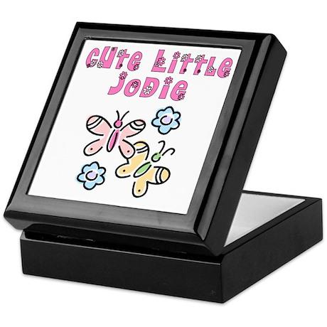 Cute Little Jodie Keepsake Box