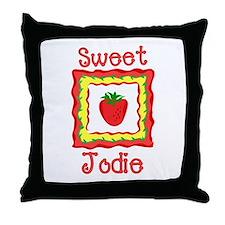 Sweet Jodie Throw Pillow