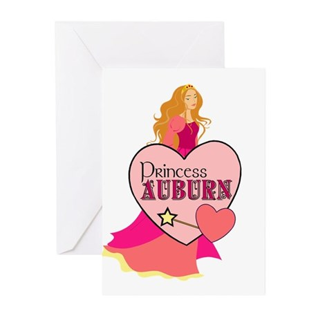 Princess Auburn Greeting Cards (Pk of 10)